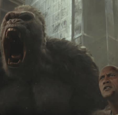 Gorille géant, loup volant et The Rock – nouveau trailer pour Rampage