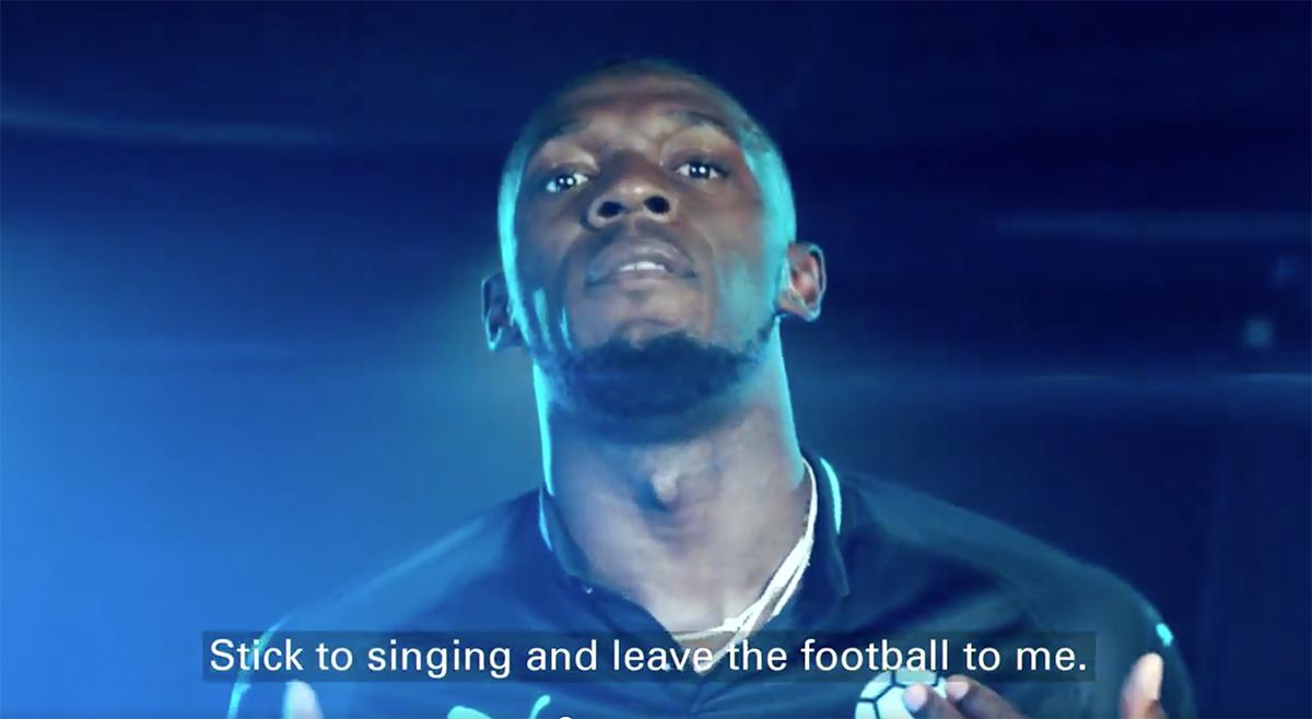 Usain Bolt Soccer Aid