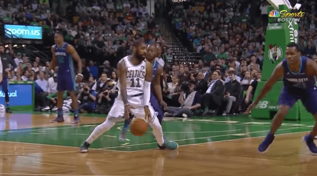 Boston Celtics Kyrie Irving Hornets