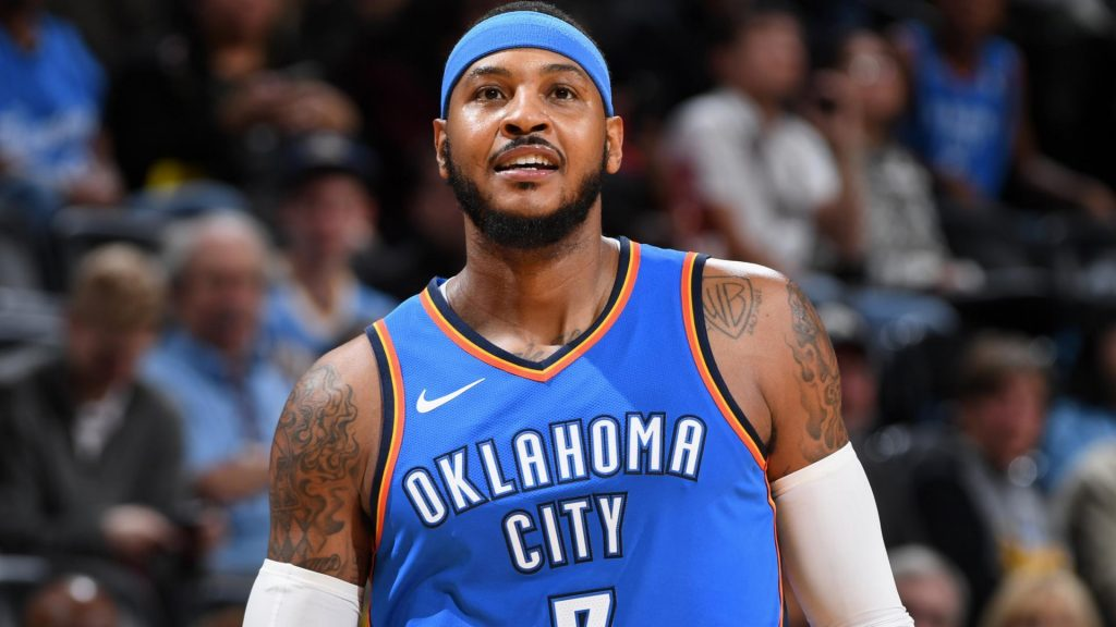 Carmelo Anthony OKC