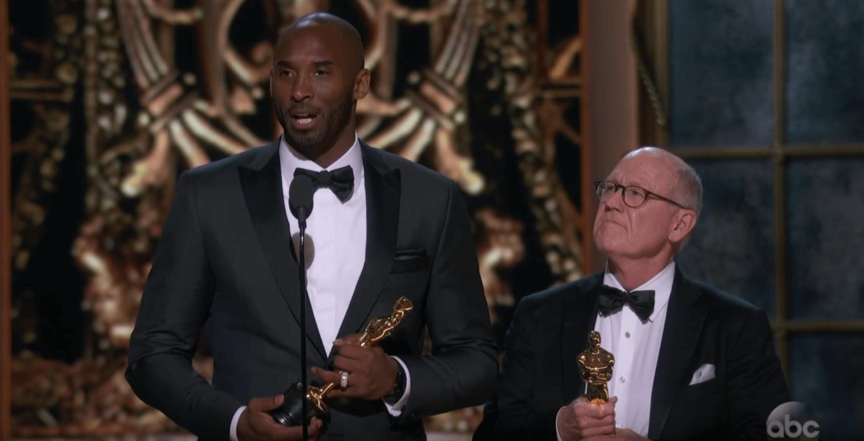 Cérémonie des Oscars : Kobe Bryant récompensé pour