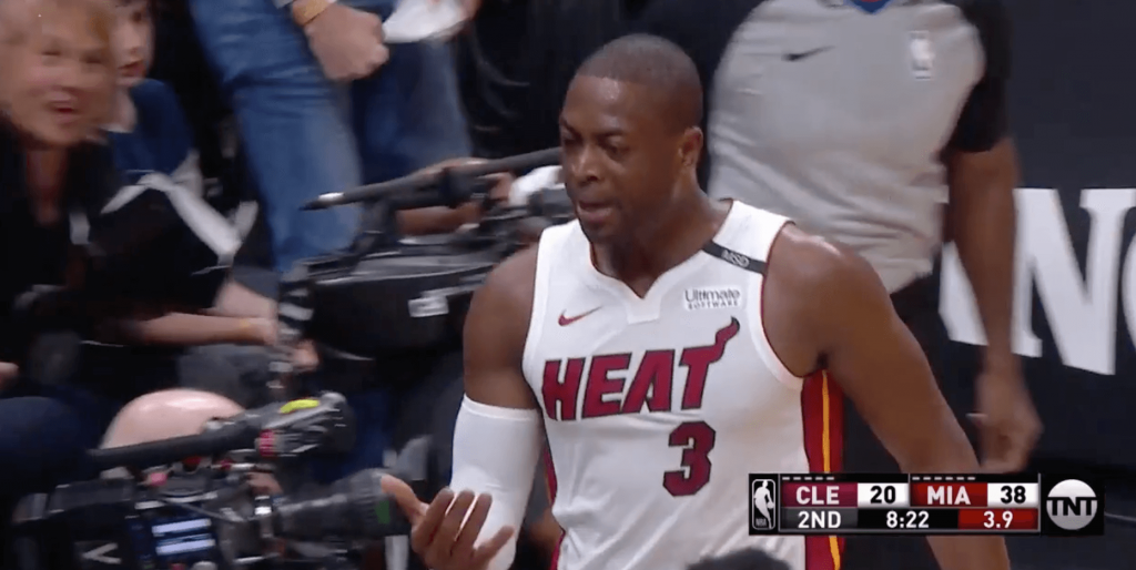 Dwyane Wade LeBron Heat Cavs
