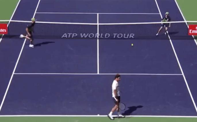 Indian Wells Federer