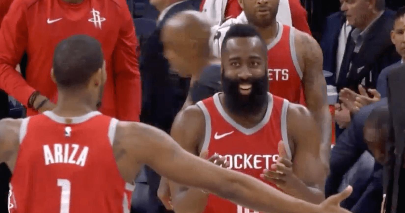 James Harden Houston Rockets Minnesota Timberwolves