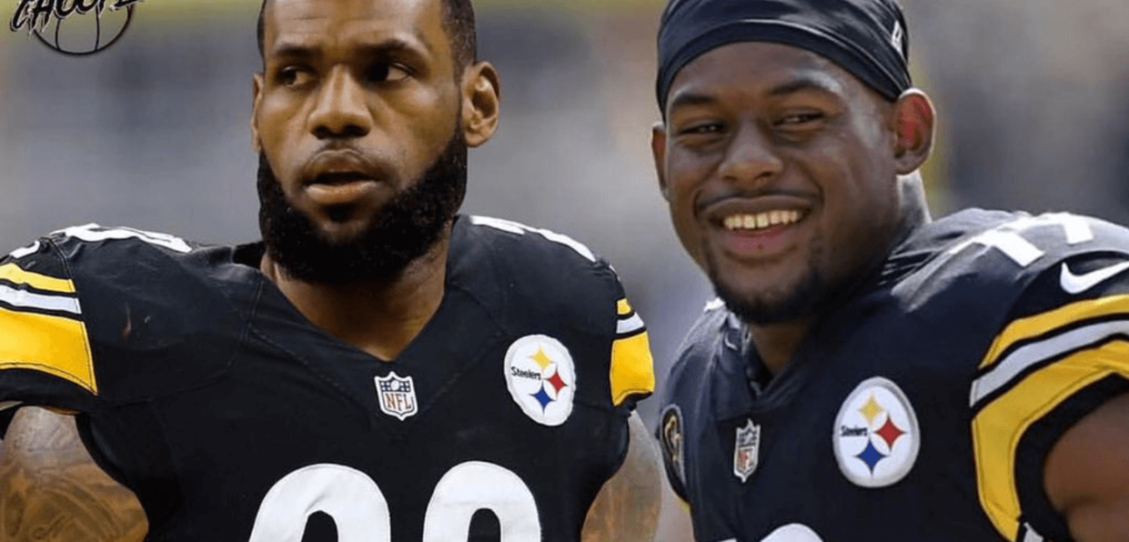 JuJu Smith-Schuster LeBron Steelers