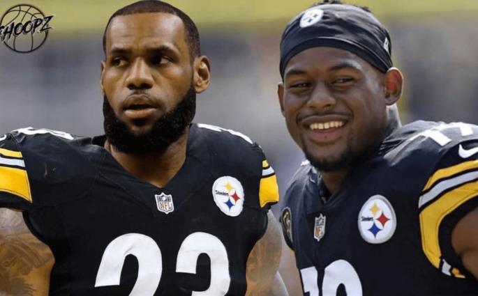 JuJu Smith-Schuster LeBron Steelers