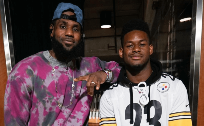 Juju Smith Schuster LeBron James