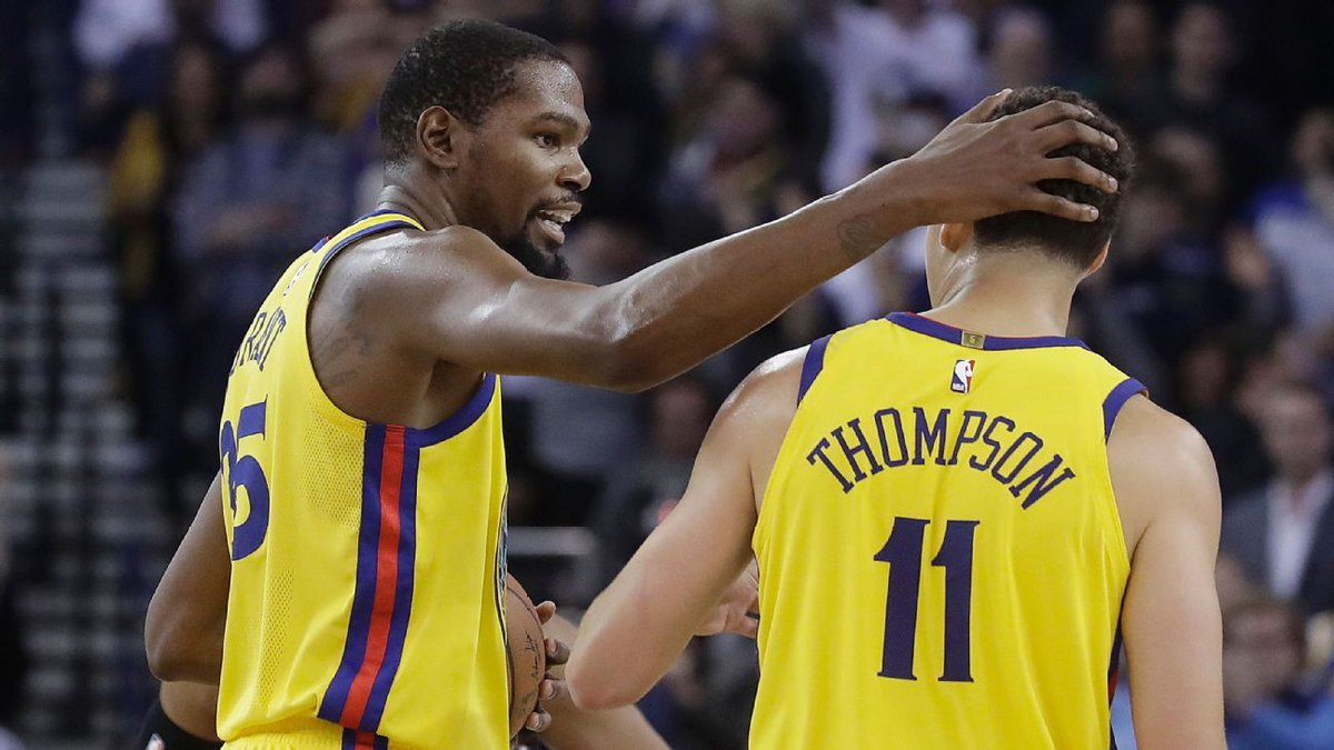 Kevin Durant Klay Thompson Spurs