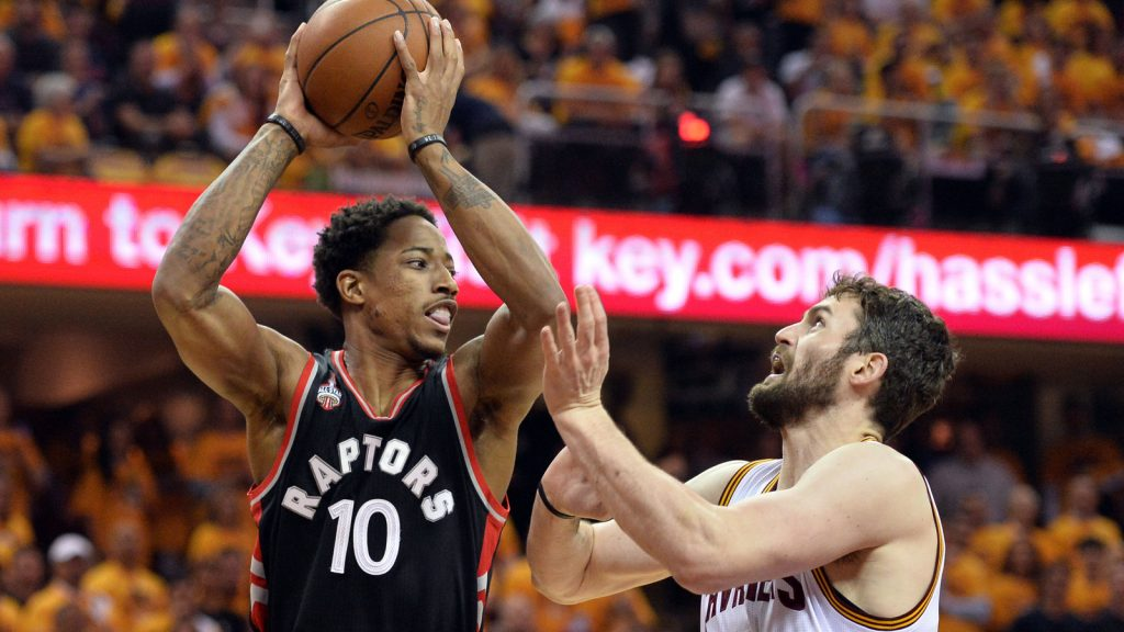 Kevin Love DeMar DeRozan