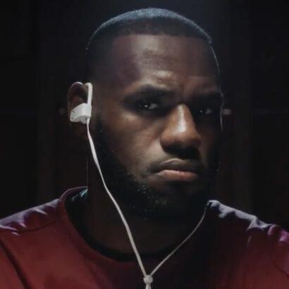 LeBron James Luke Wood Beats by Dre