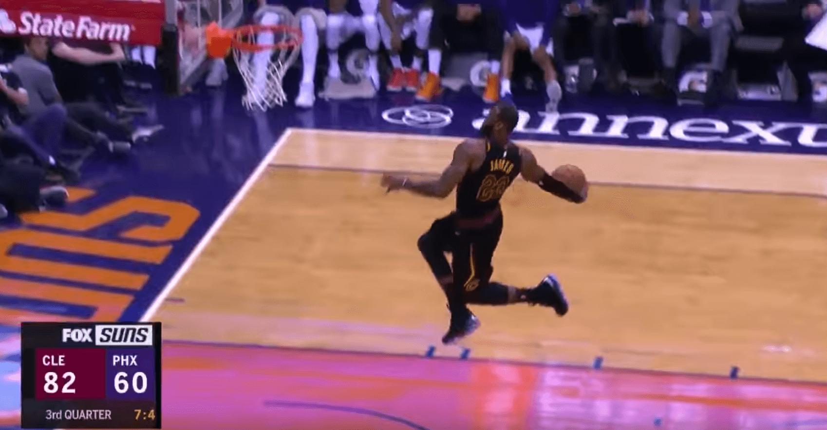 LeBron James triple double Cavs