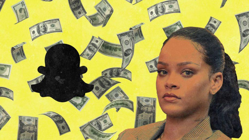 Rihanna - Snapchat (1)