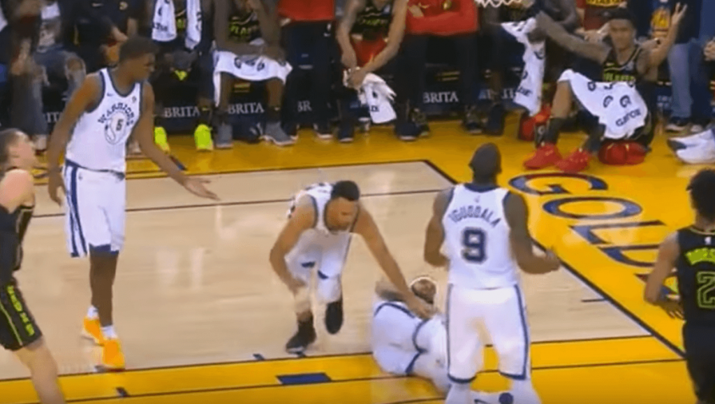 Stephen Curry injury warriors