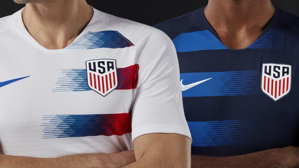 Nike dévoile les nouveaux maillots de Team USA qu'ils porteront contre la France