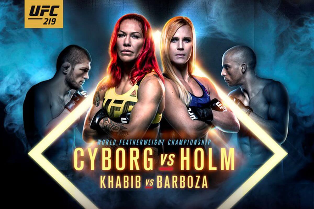 UFC 219 Poster (1)