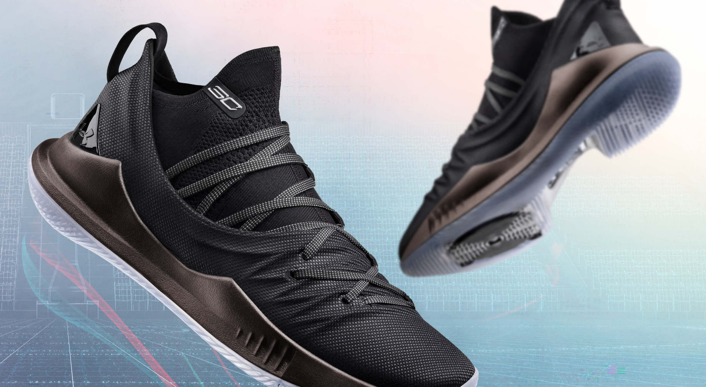 Stephen Curry dévoile l'Under Armour Curry 5