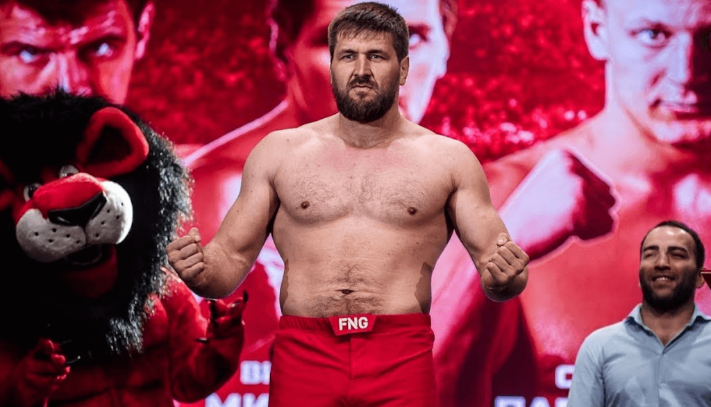 Vitaly Minakov heavyweight