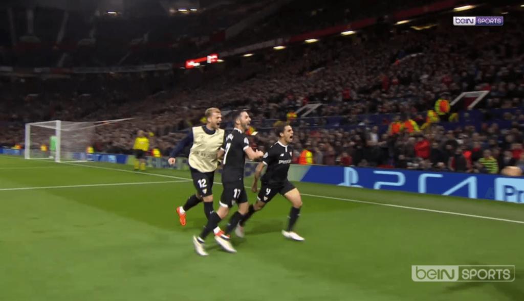 Wissam Ben Yedder Manchester United Old Trafford