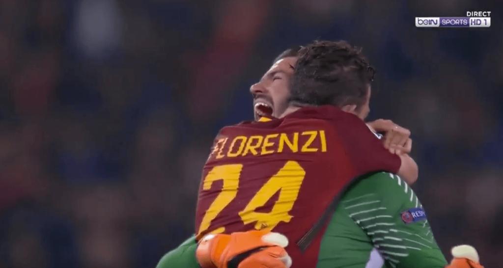 AS Roma FC Barcelona Stadio Olimpico