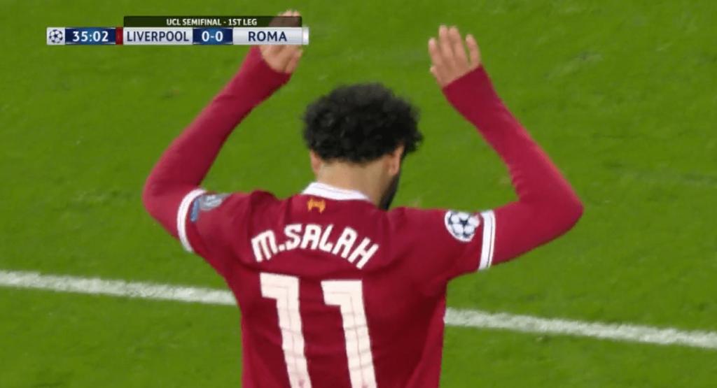 L'ouverture du score magnifique de Mohamed Salah pour Liverpool