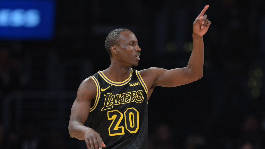 Andre Ingram Los Angeles Lakers