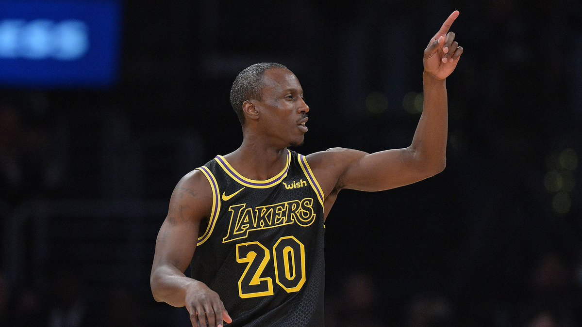 Andre Ingram Los Angeles Lakers