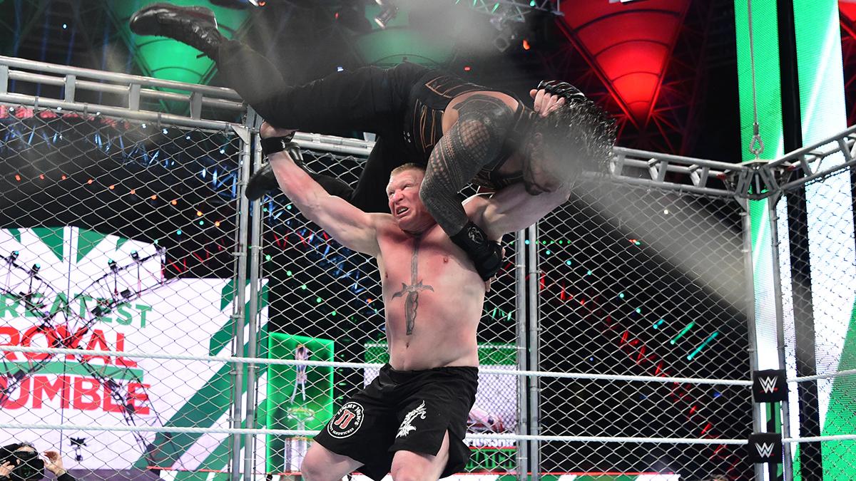 Brock Lesnar reste le champion Universal de la WWE !