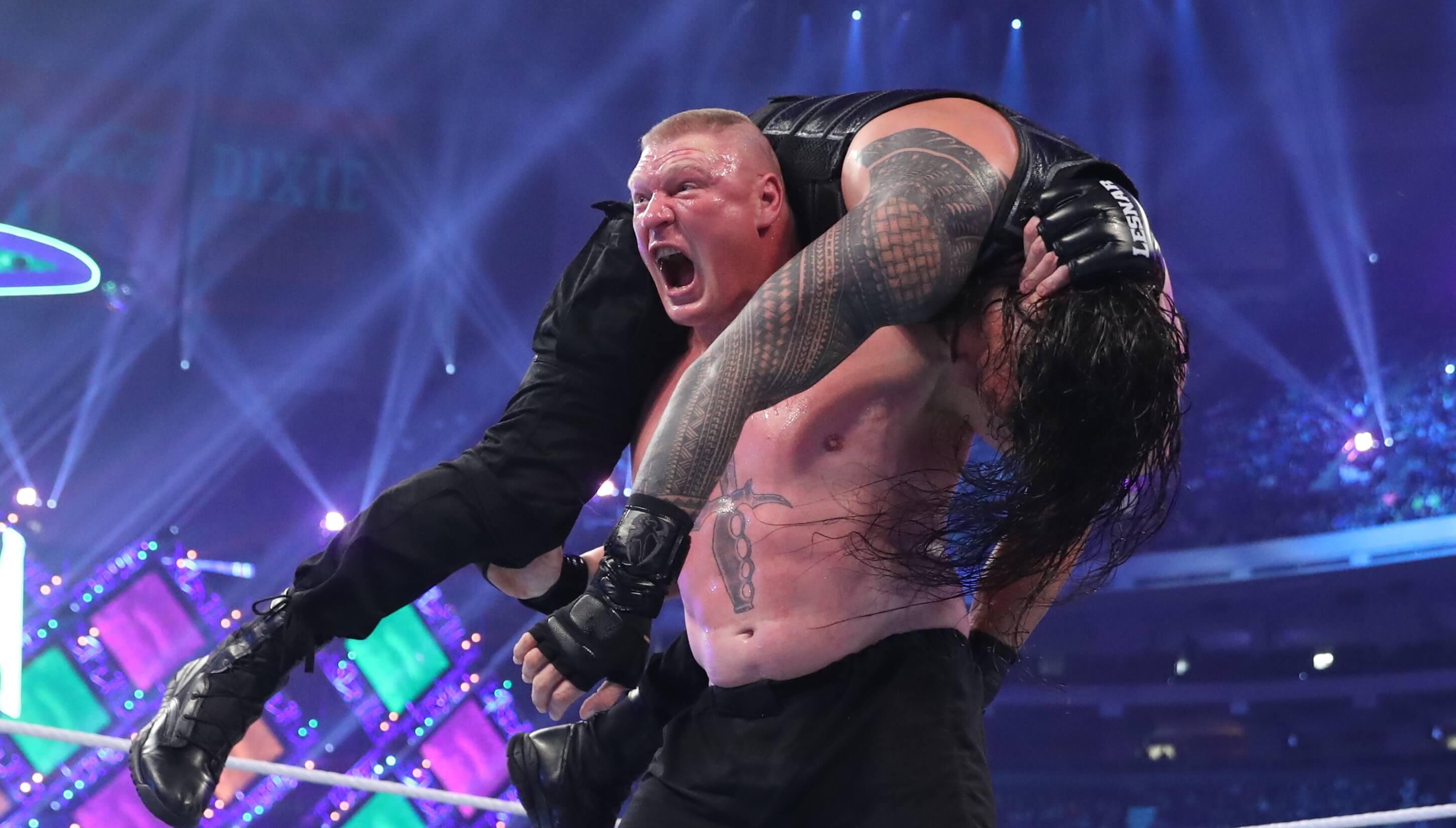 Brock Lesnar WWE UFC