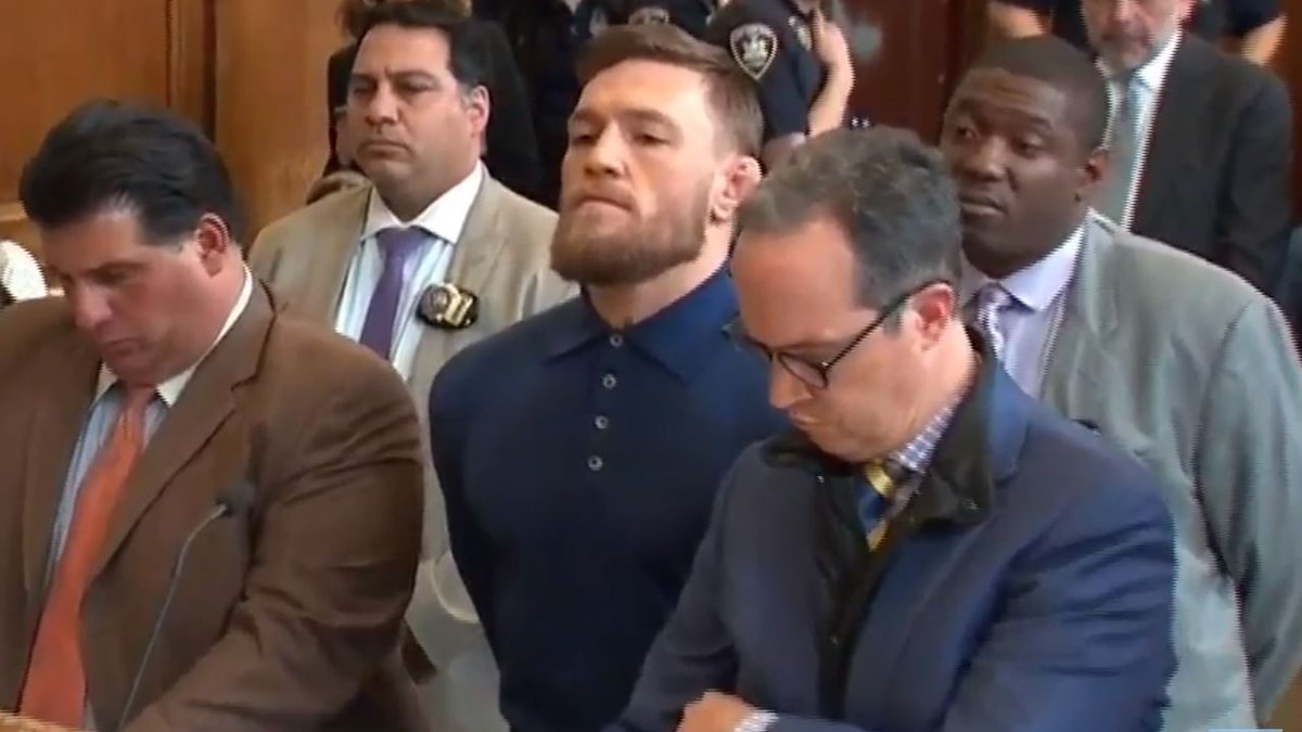 Conor McGregor hearing UFC 223