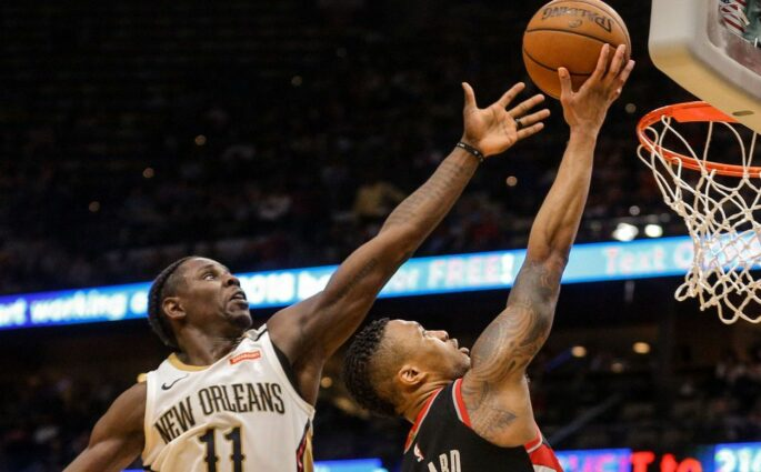 Damian Lillard Jrue Holiday