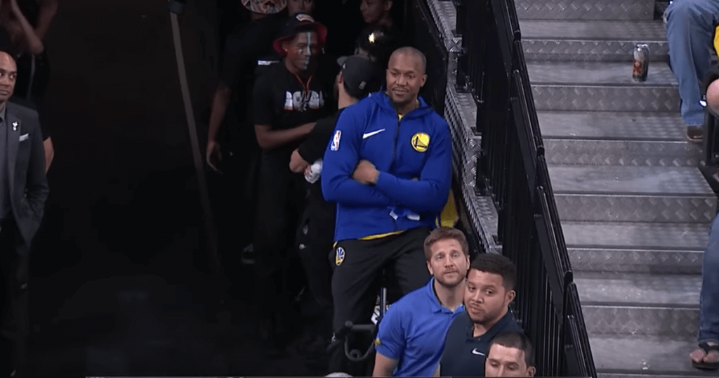 David West Warriors Spurs