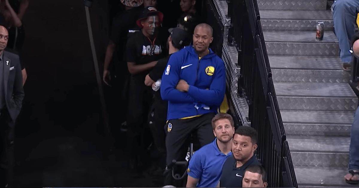 David West Warriors Spurs