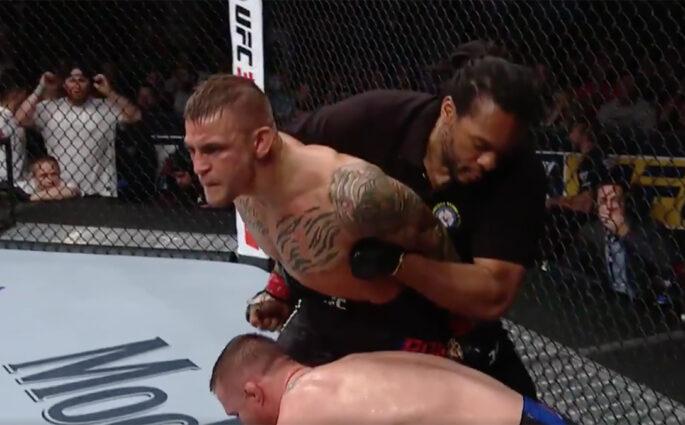 Dustin Poirier Justin Gaethje UFC Glendale