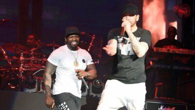 Eminem a ramené Dr. Dre et 50 Cent à Coachella