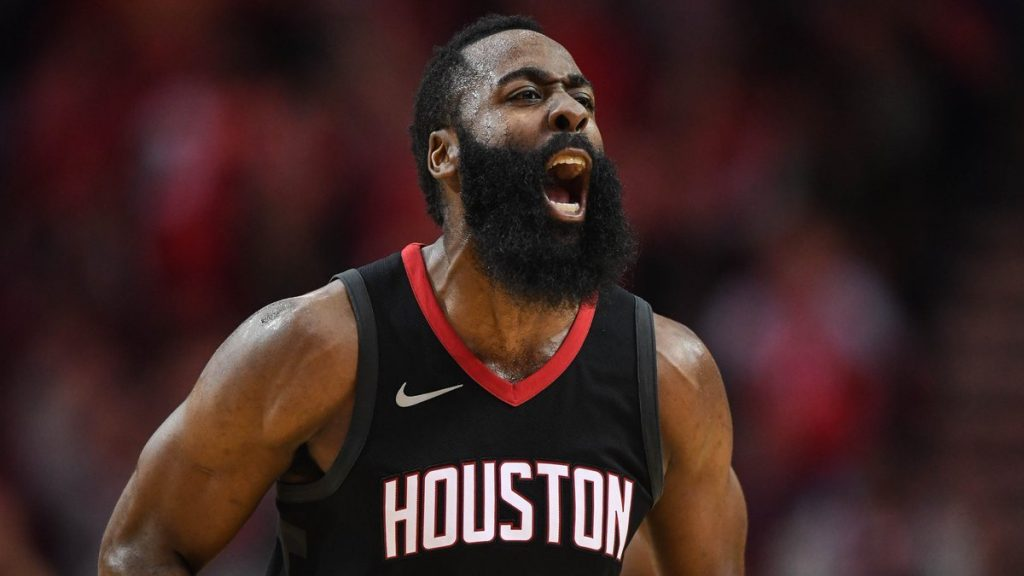 James Harden Houston Rockets Wolves