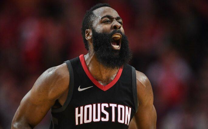 James Harden Houston Rockets Wolves