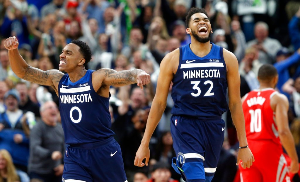 Les Minnesota Timberwolves restent en vie contre les Houston Rockets !