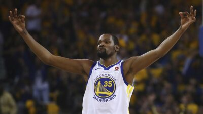 Kevin Durant Warriors Spurs