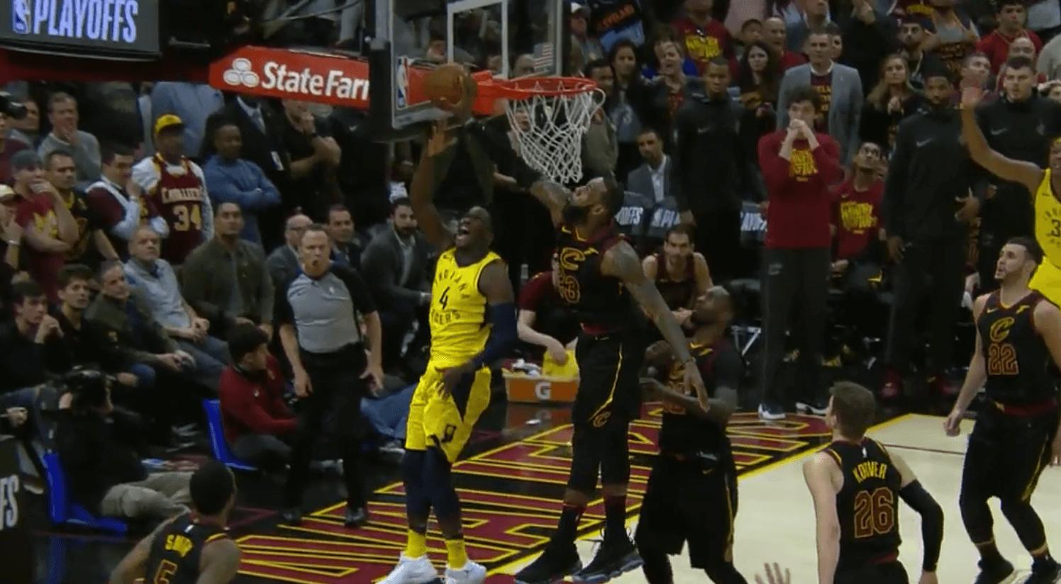 LeBron James crucifie les Pacers à la dernière seconde !