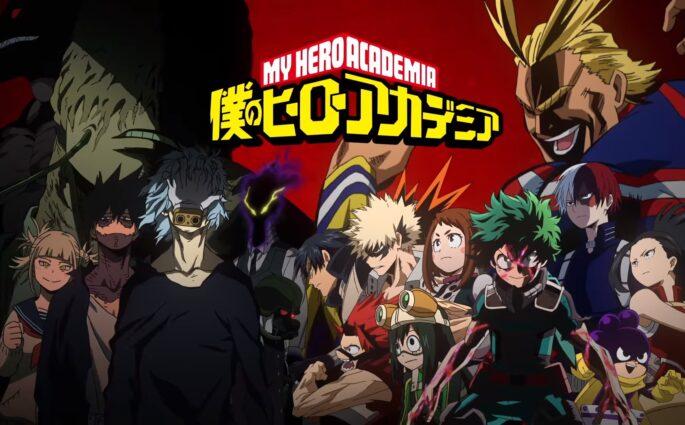 L'animé My Hero Academia est de retour pour une saison 3 !