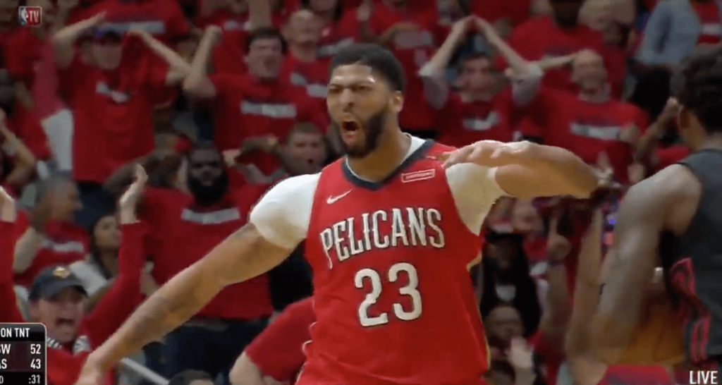 Pelicans Blazers Anthony Davis