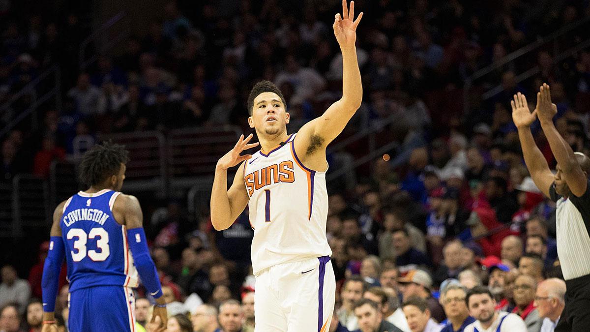 Phoenix Suns NBA 2017 2018