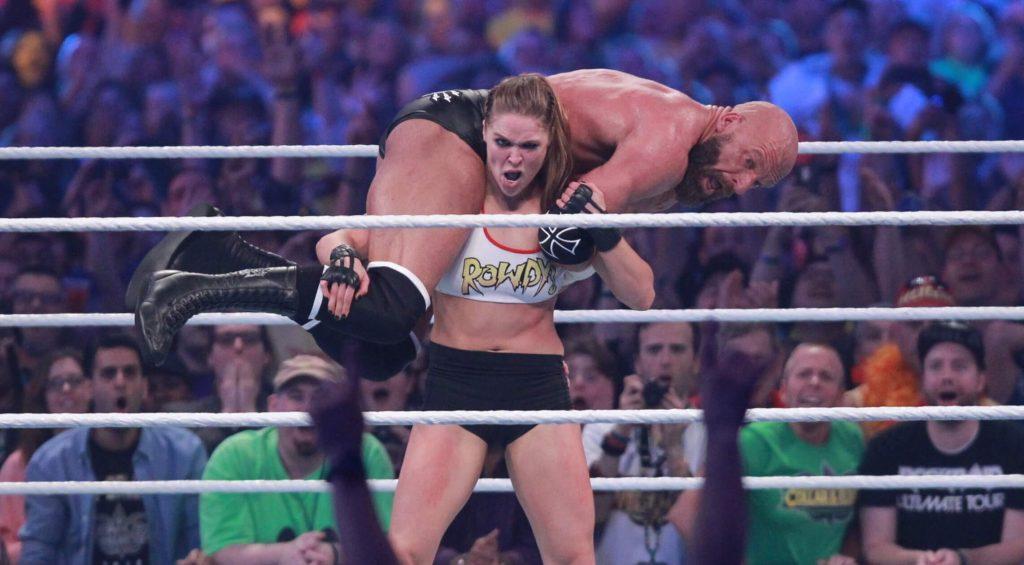 Ronda Rousey WrestleMania 34