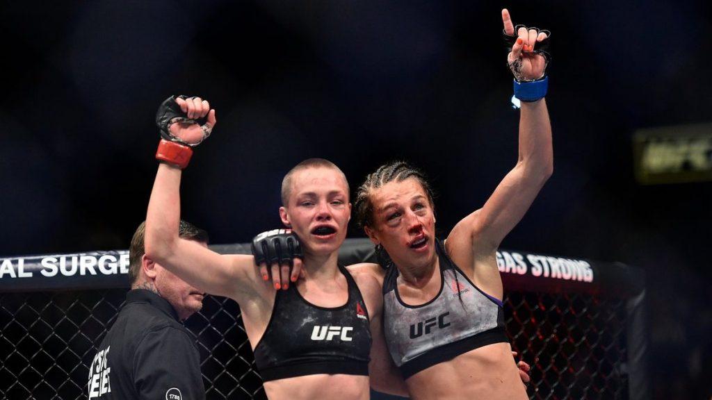 Rose Namajunas reste championne face à Jędrzejczyk à l'UFC 223