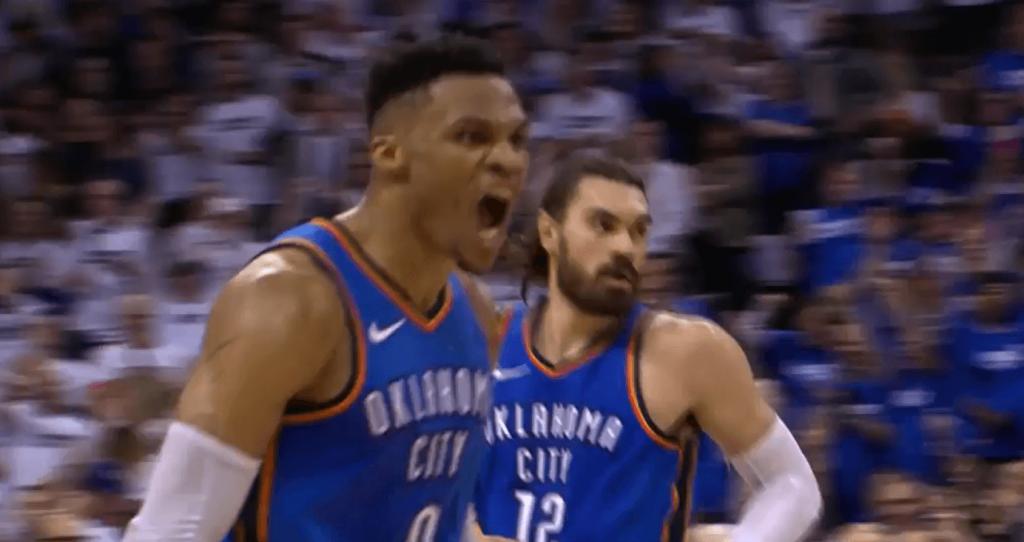 Westbrook héroïque et énorme comeback du Thunder pour rester en vie !