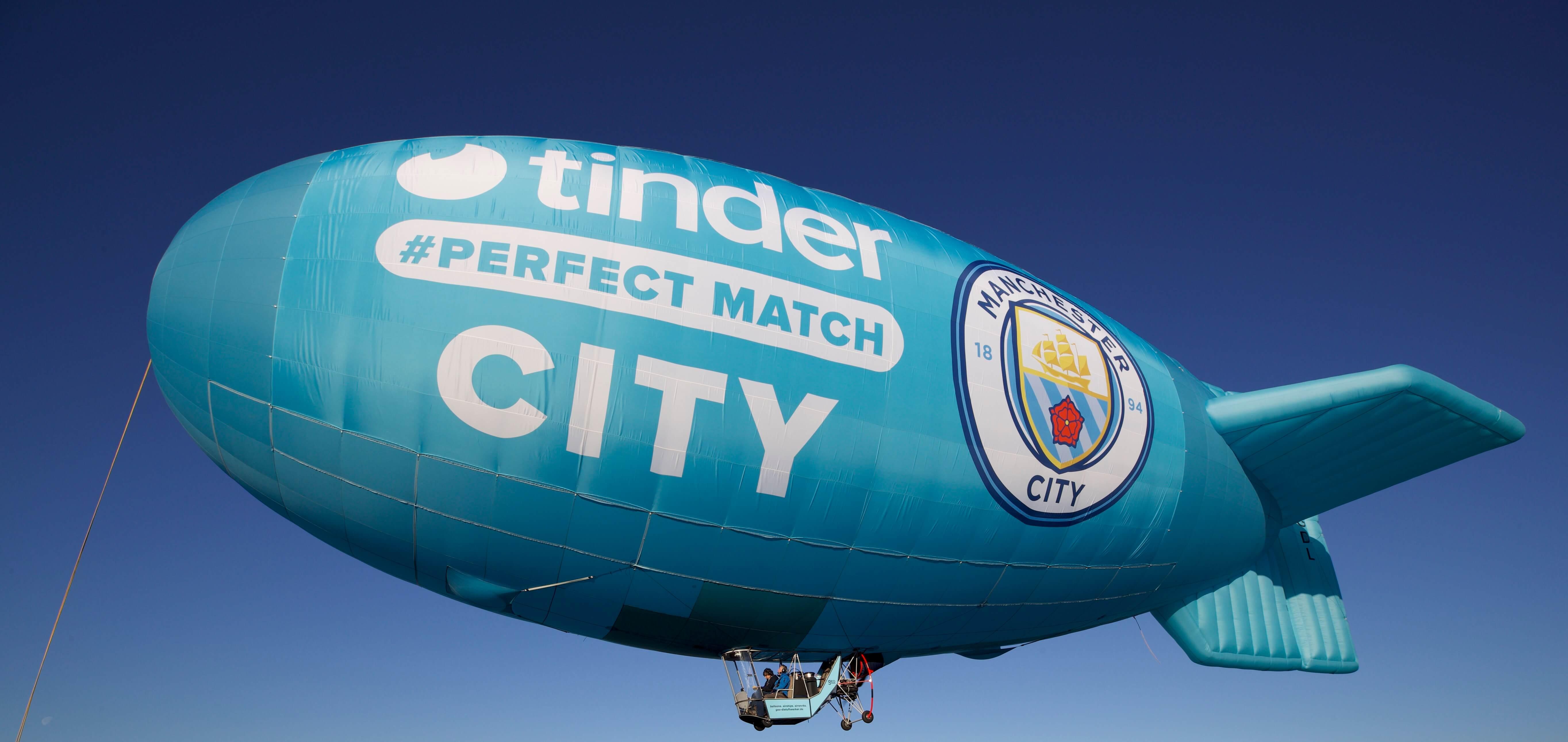 Manchester City signe un partenariat avec… Tinder