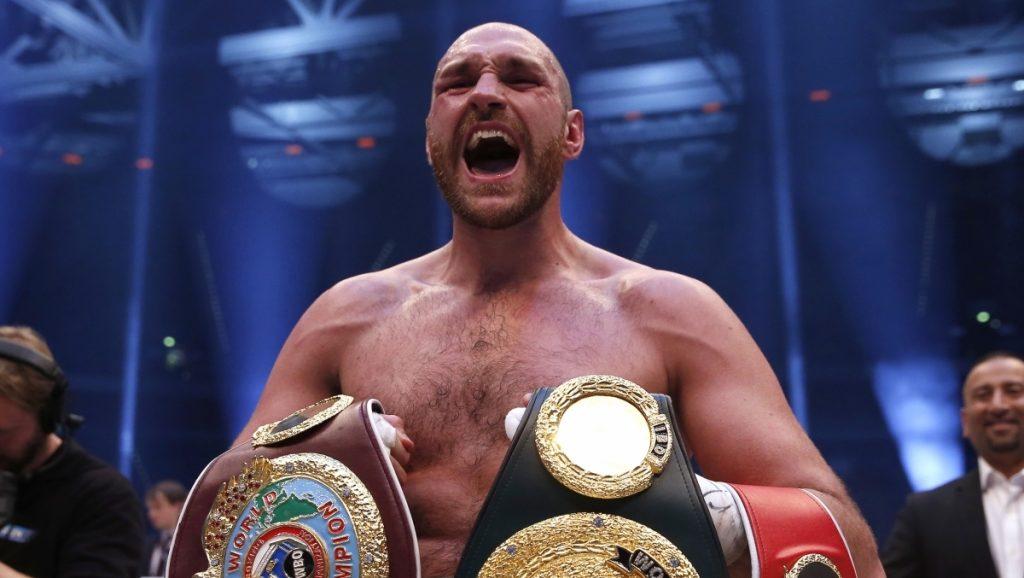 Tyson Fury tient officiellement son prochain combat !