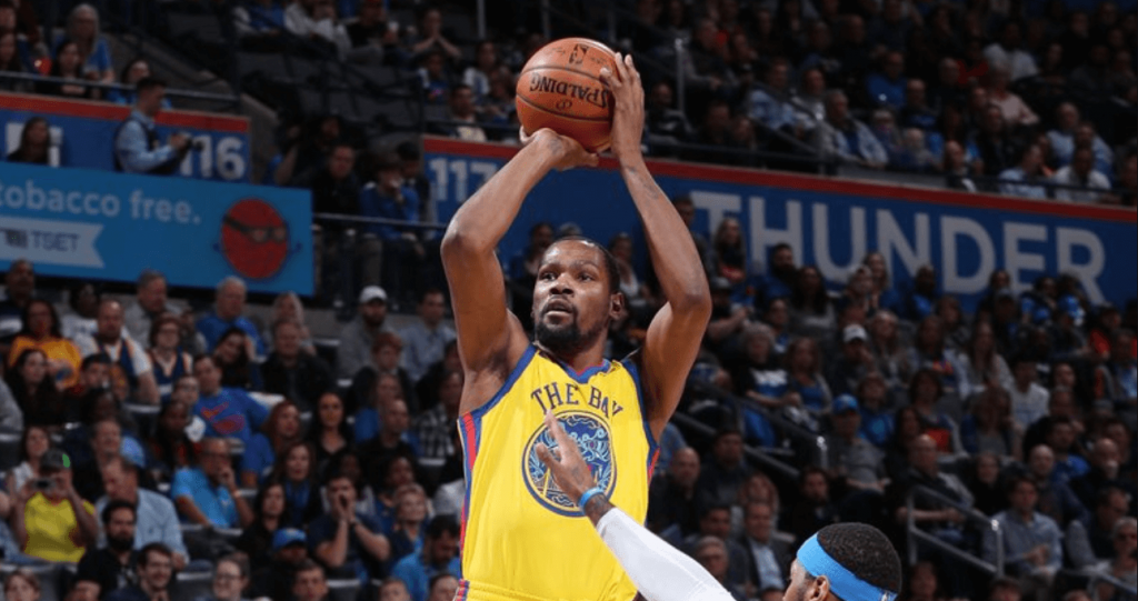 Warriors OKC Kevin Durant