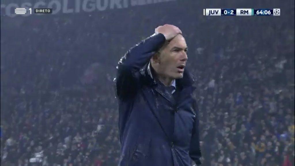 Zinedine Zidane Cristiano Ronaldo goal