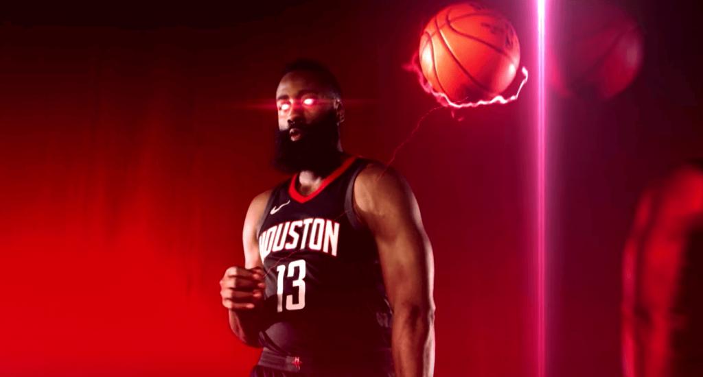 La grosse intro des Houston Rockets pour les playoffs